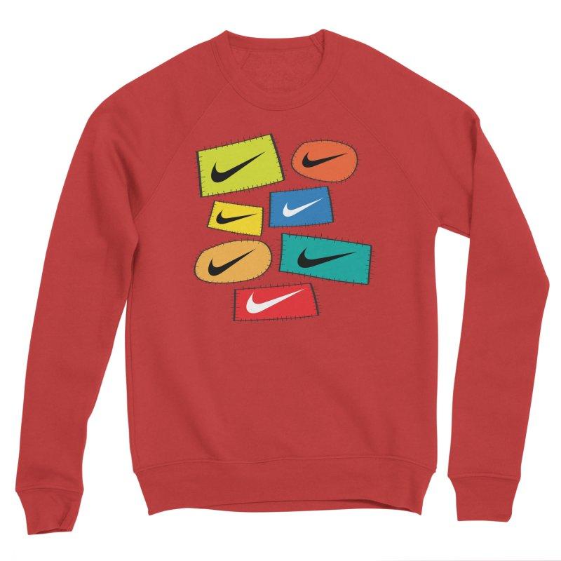 Cut-Outs Men's Sponge Fleece Sweatshirt by La Tiendita Pepito
