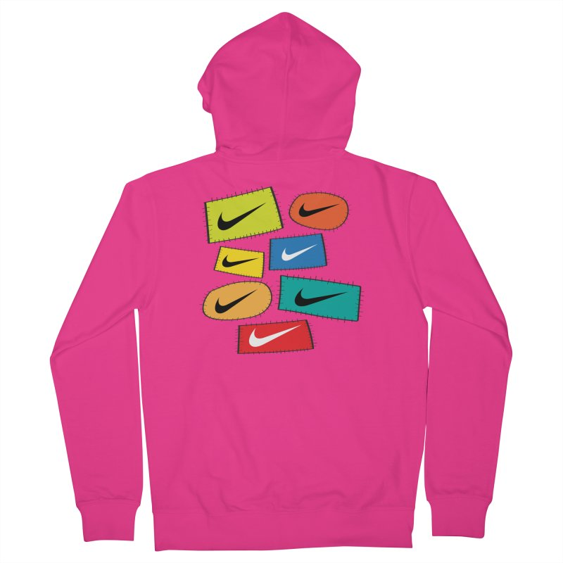 Cut-Outs Men's French Terry Zip-Up Hoody by La Tiendita Pepito