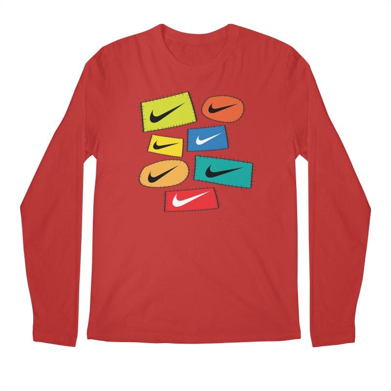 Cut-Outs Men's Regular Longsleeve T-Shirt by La Tiendita Pepito