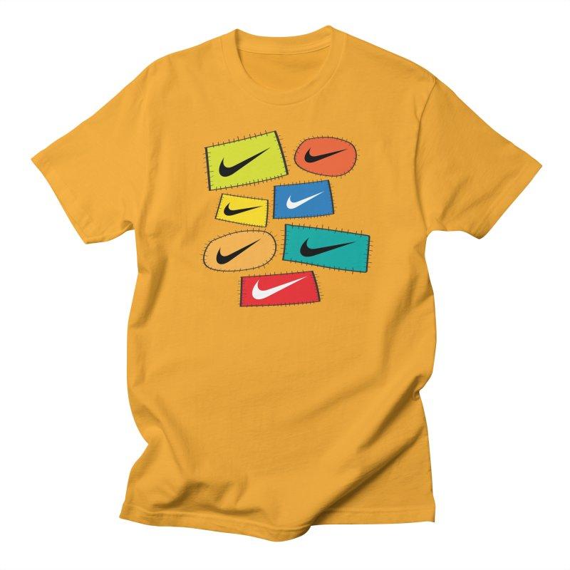 Cut-Outs Men's Regular T-Shirt by La Tiendita Pepito