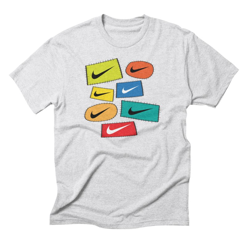 Cut-Outs Men's Triblend T-Shirt by La Tiendita Pepito