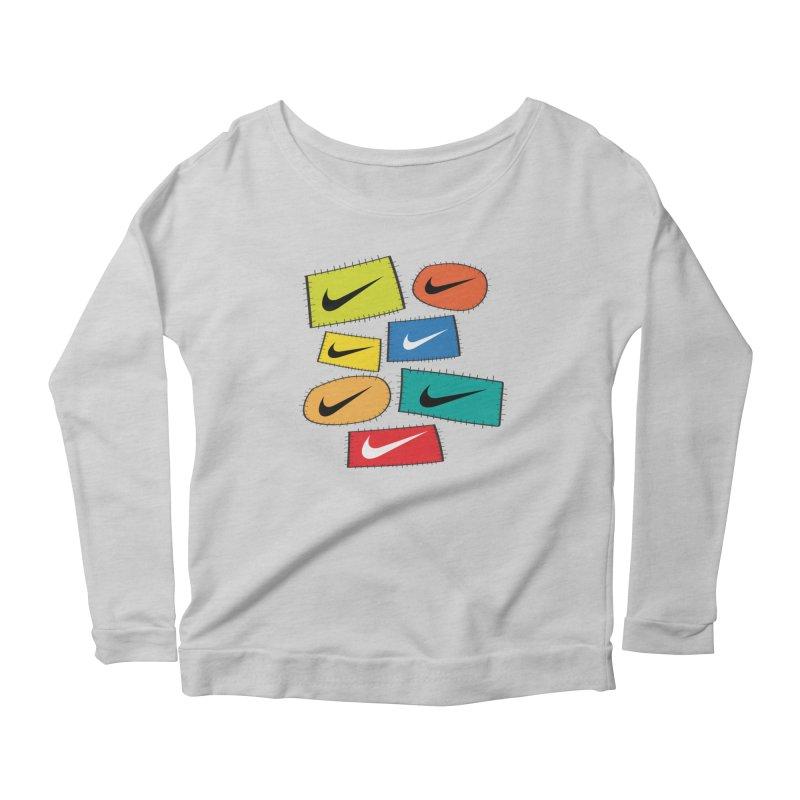 Cut-Outs Women's Scoop Neck Longsleeve T-Shirt by La Tiendita Pepito