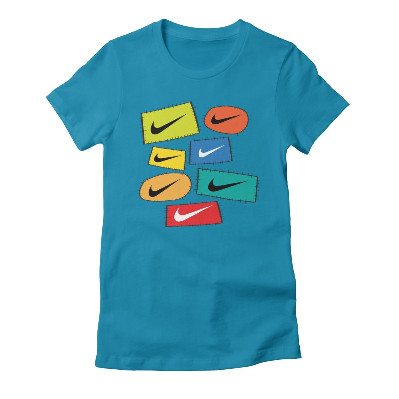 Cut-Outs Women's Fitted T-Shirt by La Tiendita Pepito