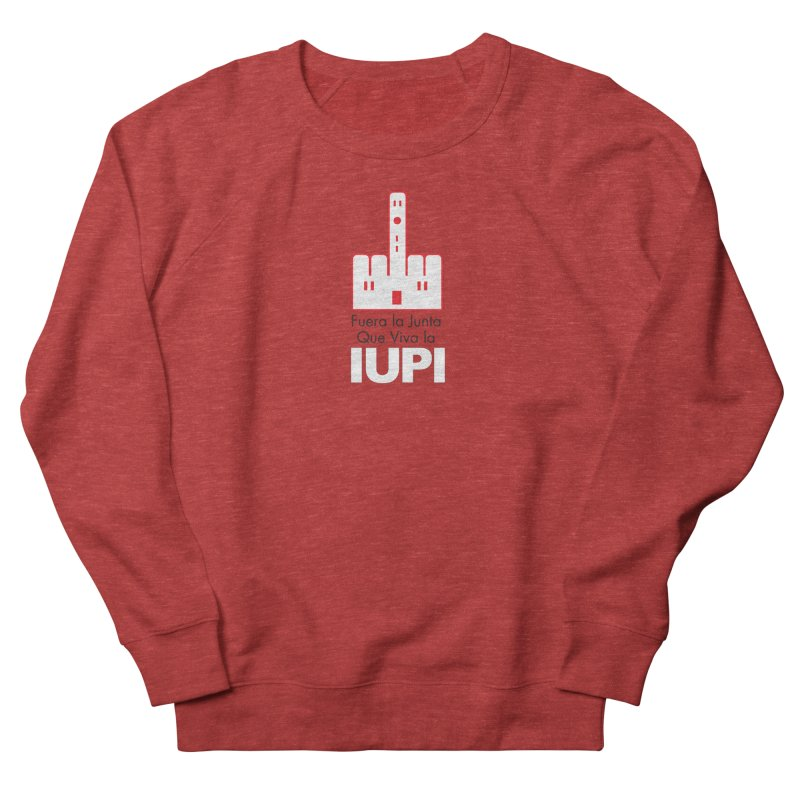 IUPI Men's French Terry Sweatshirt by La Tiendita Pepito
