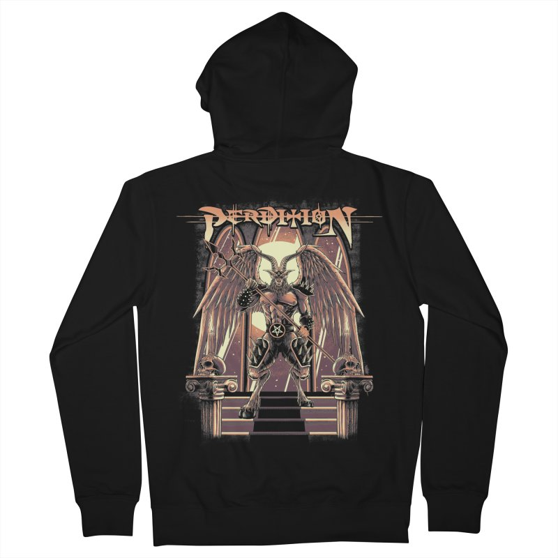 Archgoat of Madness Men's Zip-Up Hoody by perditionofficial's Artist Shop