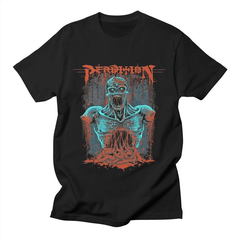 Putrid Old School Logo Men's T-Shirt by perditionofficial's Artist Shop