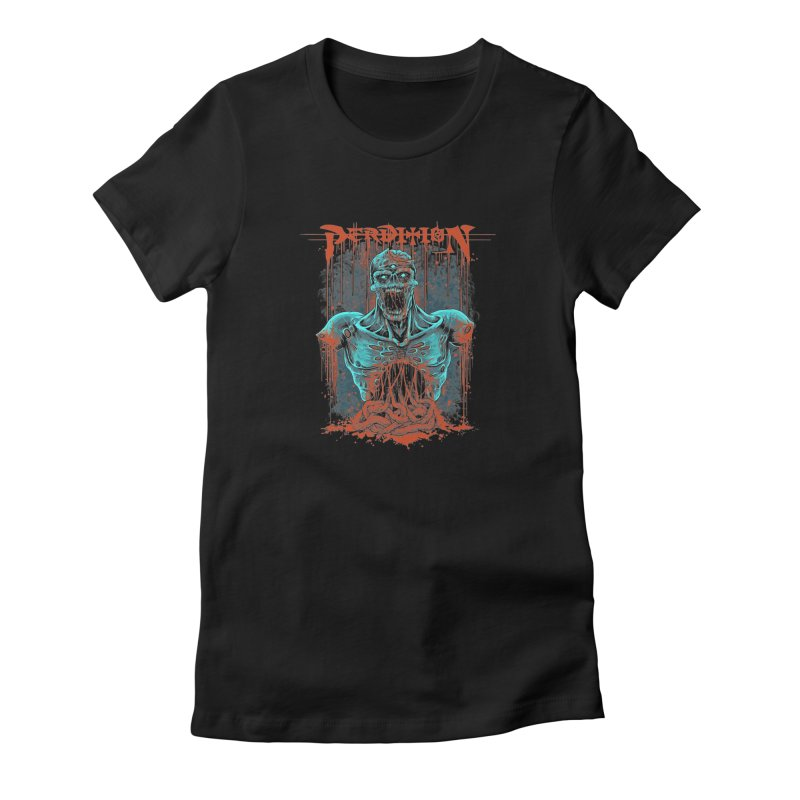 Putrid Old School Logo Women's T-Shirt by perditionofficial's Artist Shop