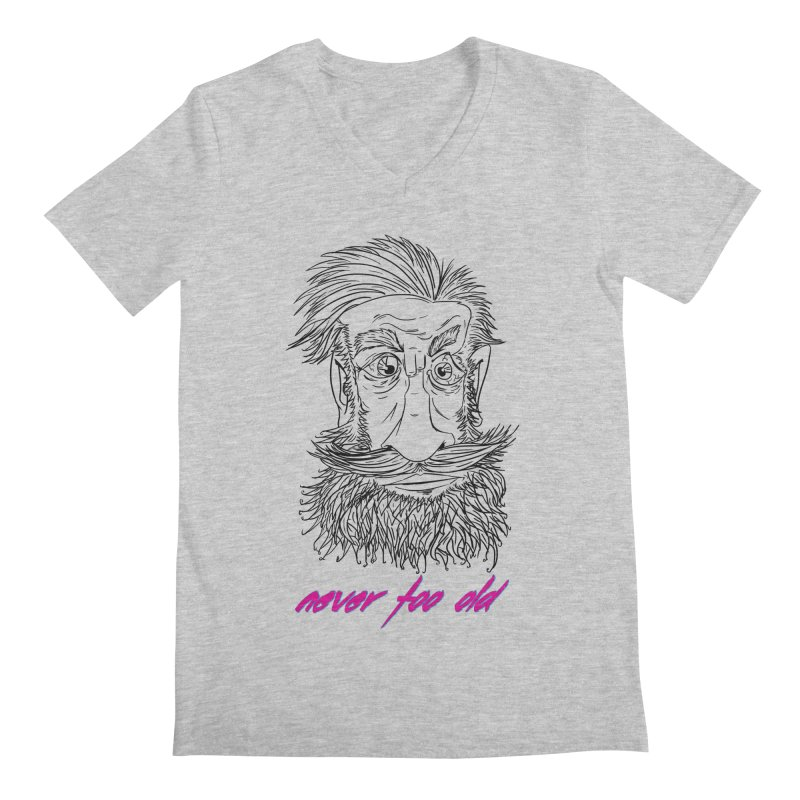Never too old Men's V-Neck by peregraphs's Artist Shop