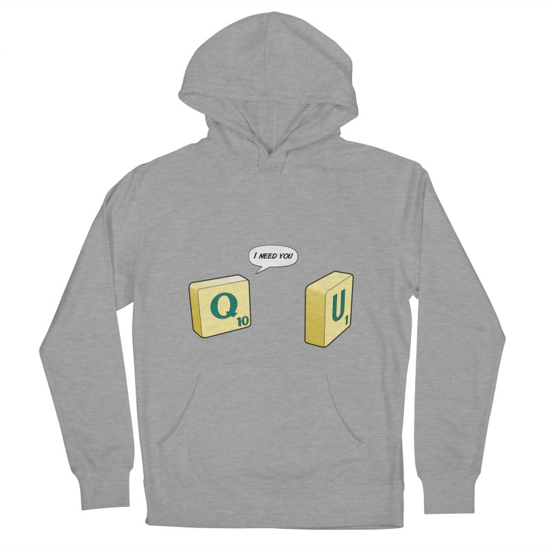 Scrabble love Women's Pullover Hoody by peregraphs's Artist Shop