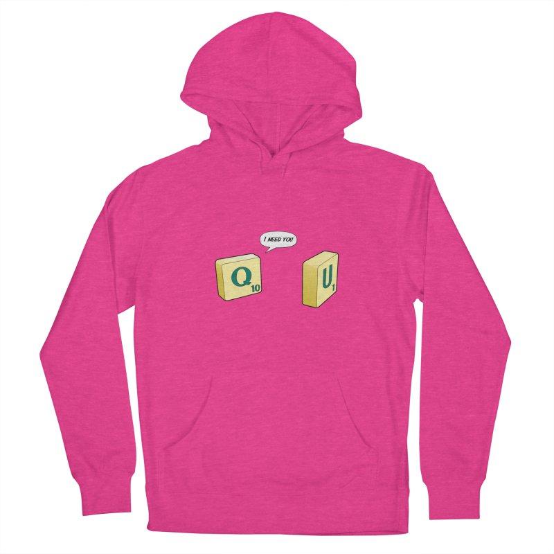 Scrabble love Women's Pullover Hoody by peregraphs's Artist Shop