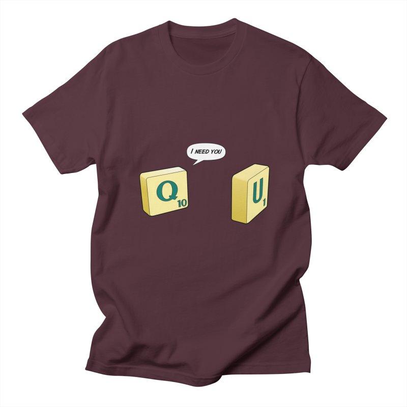 Scrabble love Women's Regular Unisex T-Shirt by peregraphs's Artist Shop
