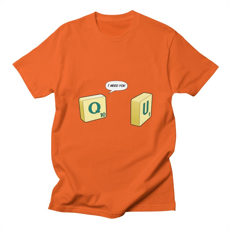 Scrabble love Women's Regular Unisex T-Shirt by peregraphs's Artist Shop