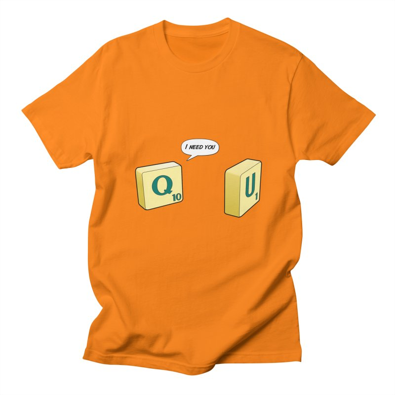Scrabble love Men's T-Shirt by peregraphs's Artist Shop
