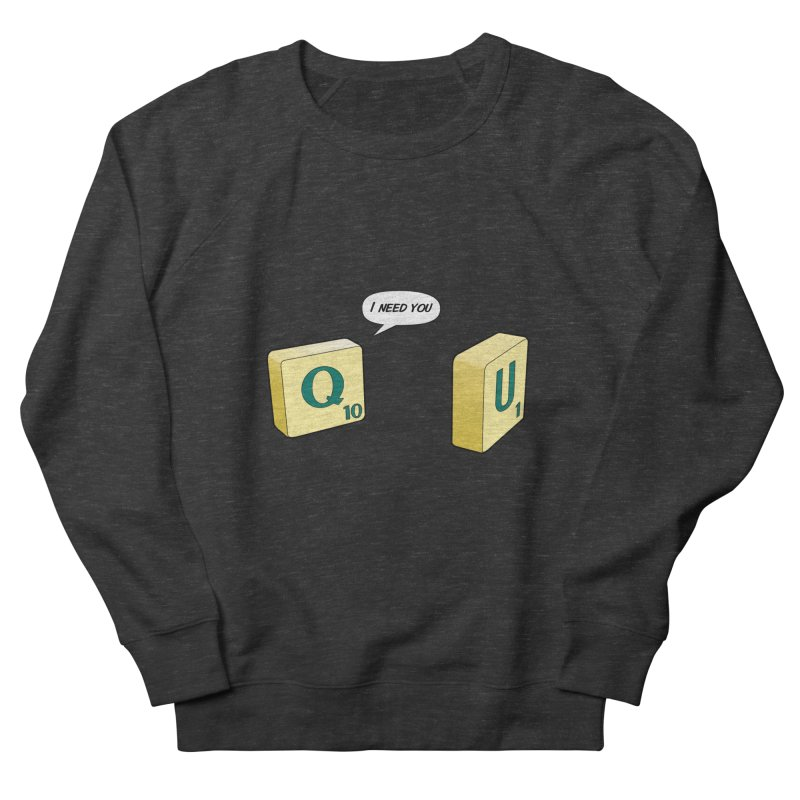 Scrabble love Women's Sweatshirt by peregraphs's Artist Shop