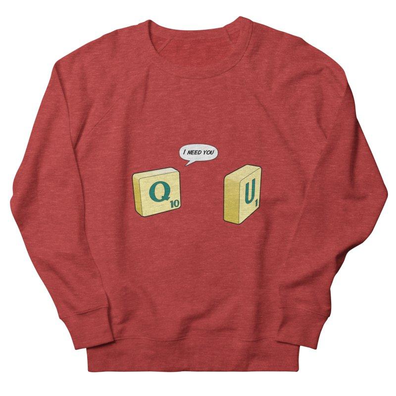 Scrabble love Men's Sweatshirt by peregraphs's Artist Shop
