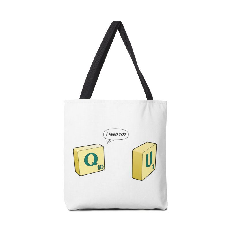 Scrabble love Accessories Bag by peregraphs's Artist Shop