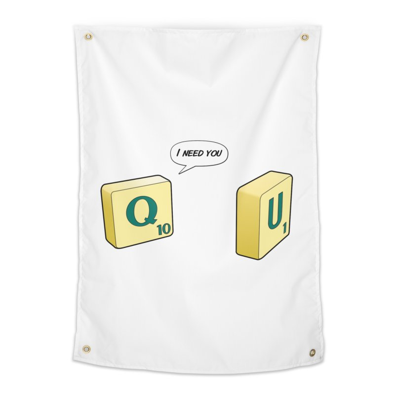 Scrabble love Home Tapestry by peregraphs's Artist Shop