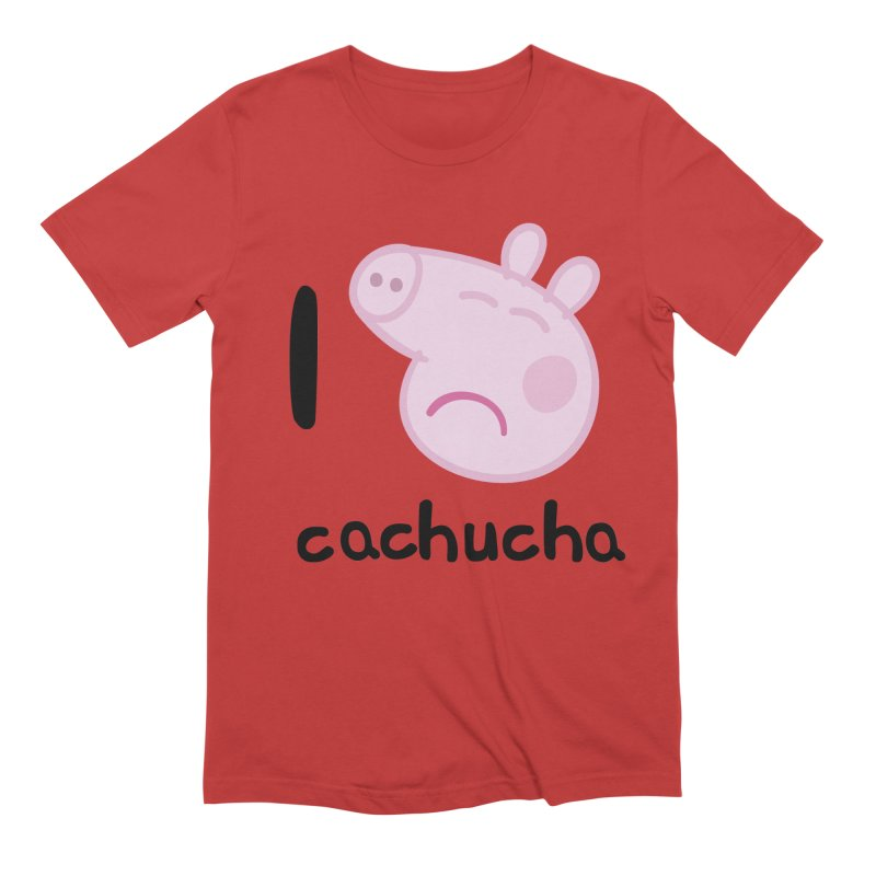 I love cachucha_2 Men's Extra Soft T-Shirt by peregraphs's Artist Shop