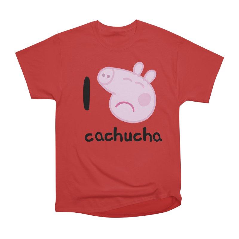 I love cachucha_2 Men's Heavyweight T-Shirt by peregraphs's Artist Shop