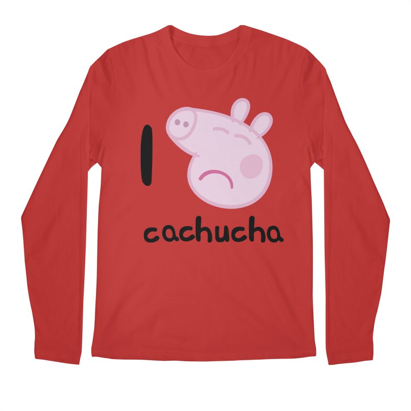 I love cachucha_2 Men's Regular Longsleeve T-Shirt by peregraphs's Artist Shop