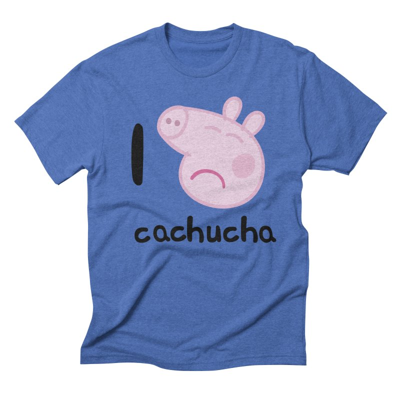 I love cachucha_2 Men's T-Shirt by peregraphs's Artist Shop