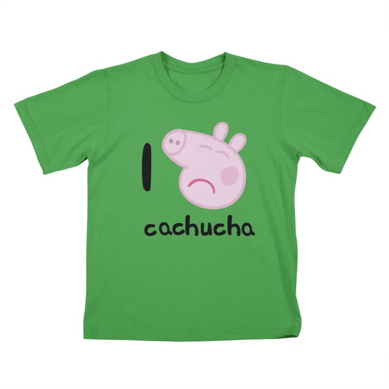 I love cachucha_2 Kids T-Shirt by peregraphs's Artist Shop