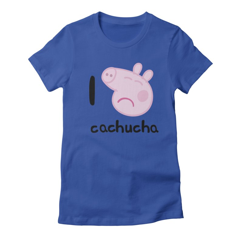 I love cachucha_2 Women's T-Shirt by peregraphs's Artist Shop