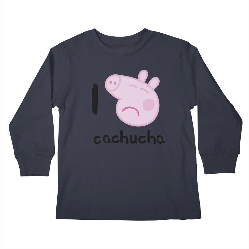 I love cachucha_2 Kids Longsleeve T-Shirt by peregraphs's Artist Shop