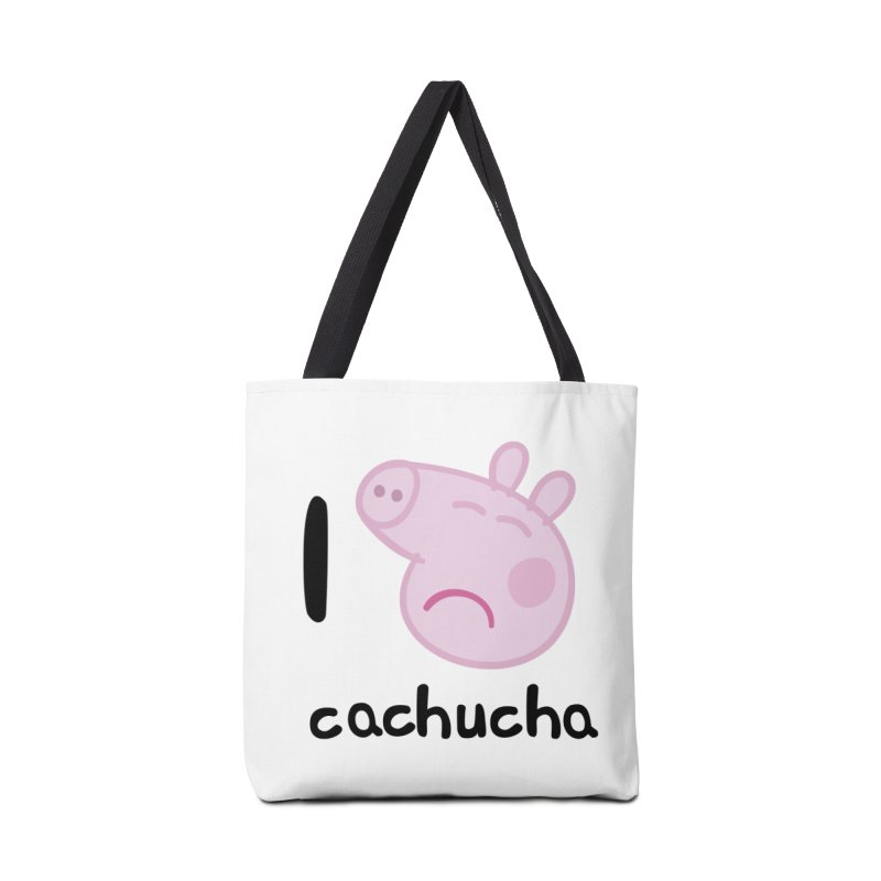 I love cachucha_2 Accessories Tote Bag Bag by peregraphs's Artist Shop