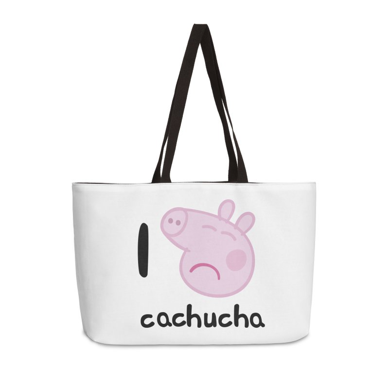 I love cachucha_2 Accessories Weekender Bag Bag by peregraphs's Artist Shop