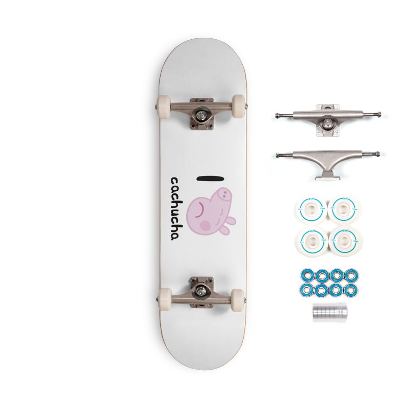 I love cachucha_2 Accessories Complete - Basic Skateboard by peregraphs's Artist Shop