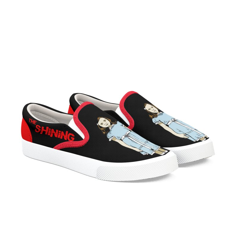 The Twins_Black edition in Men's Slip-On Shoes by peregraphs's Artist Shop