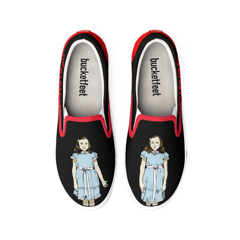 The Twins_Black edition Men's Shoes by peregraphs's Artist Shop