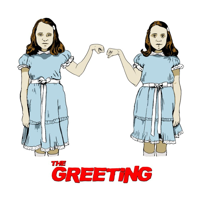 The Greeting Accessories Sticker by peregraphs's Artist Shop
