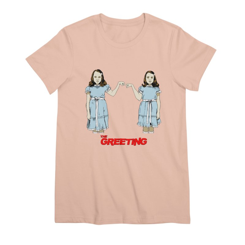 The Greeting Women's Premium T-Shirt by peregraphs's Artist Shop