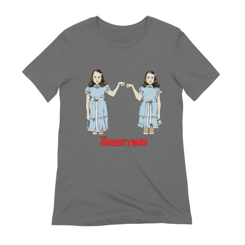 The Greeting Women's Extra Soft T-Shirt by peregraphs's Artist Shop