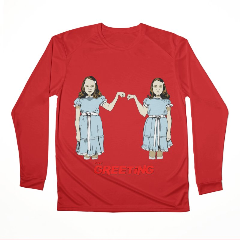 The Greeting Men's Performance Longsleeve T-Shirt by peregraphs's Artist Shop