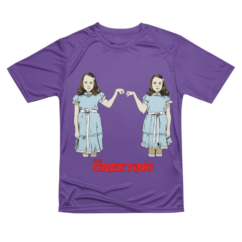 The Greeting Women's Performance Unisex T-Shirt by peregraphs's Artist Shop
