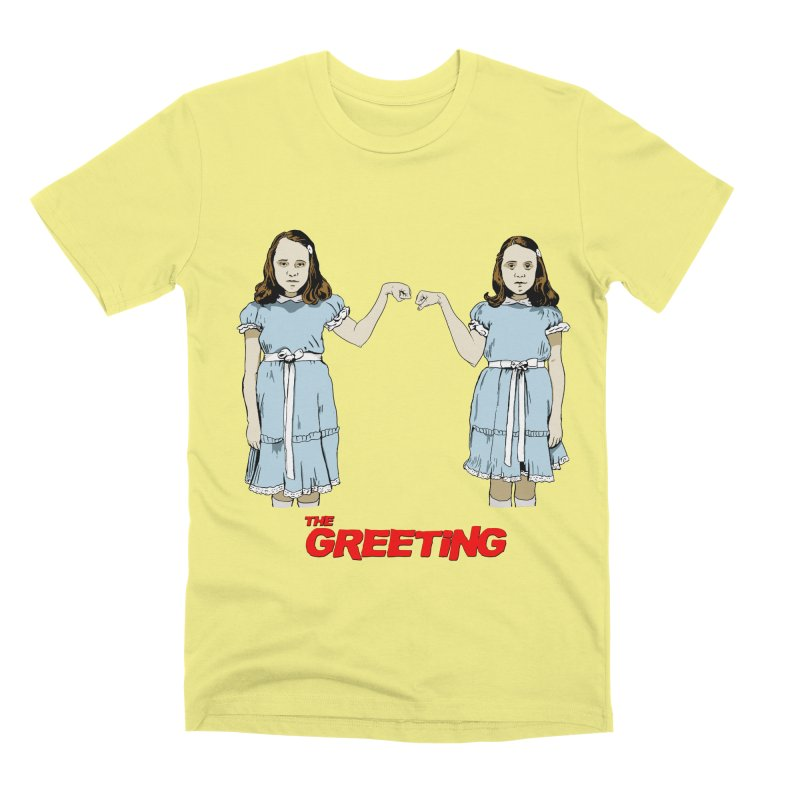 The Greeting Men's Premium T-Shirt by peregraphs's Artist Shop