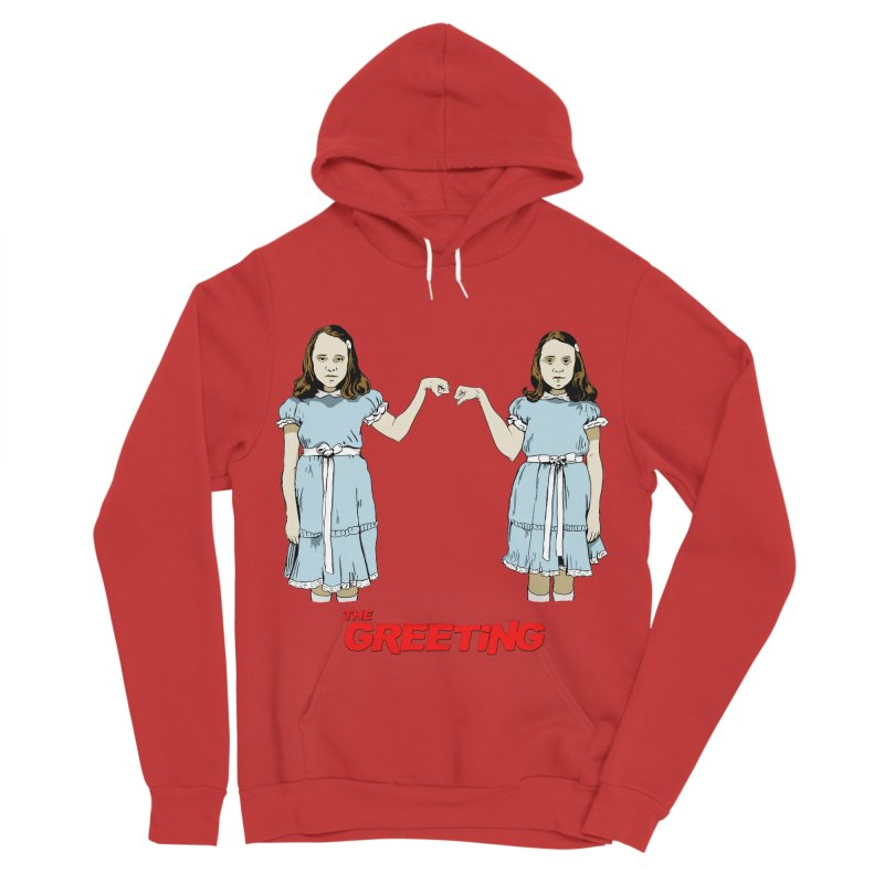 The Greeting Women's Pullover Hoody by peregraphs's Artist Shop