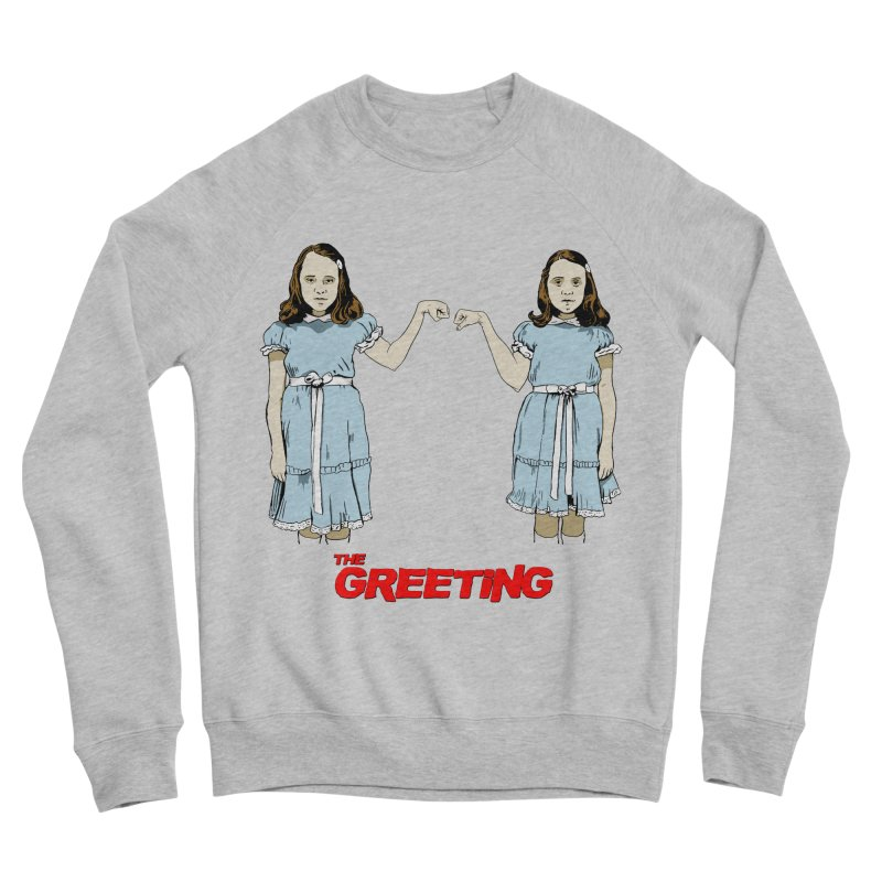 The Greeting Women's Sponge Fleece Sweatshirt by peregraphs's Artist Shop