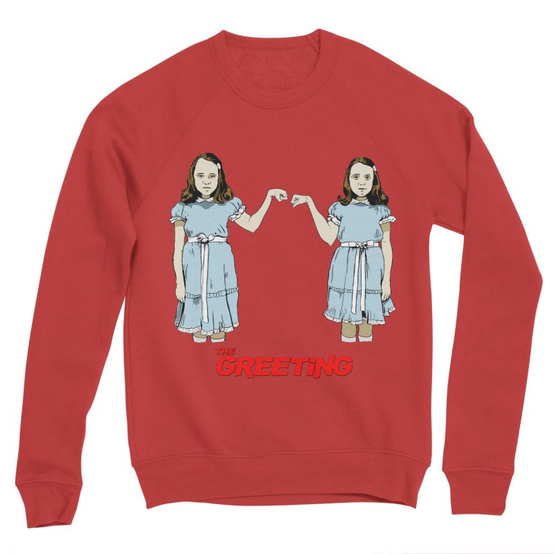 The Greeting Men's Sweatshirt by peregraphs's Artist Shop