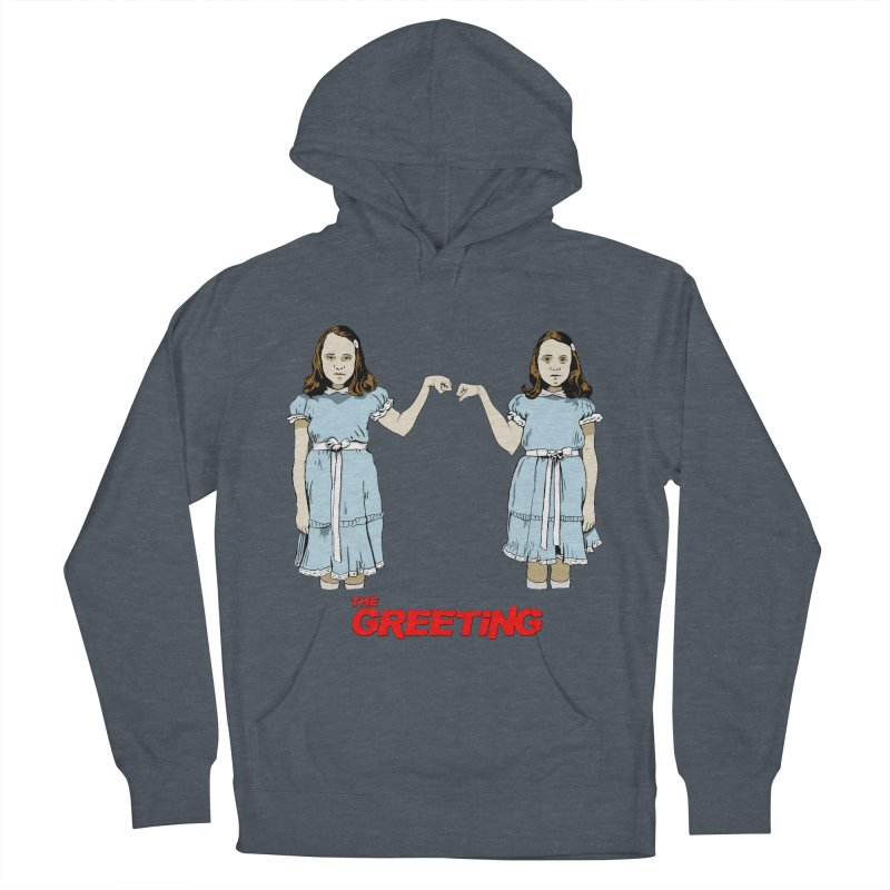 The Greeting Women's French Terry Pullover Hoody by peregraphs's Artist Shop
