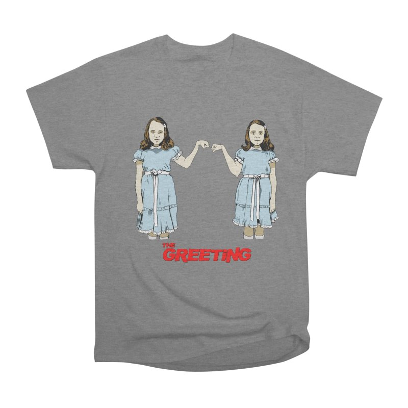 The Greeting Women's Heavyweight Unisex T-Shirt by peregraphs's Artist Shop