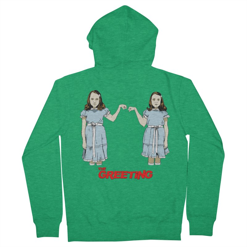 The Greeting Women's Zip-Up Hoody by peregraphs's Artist Shop