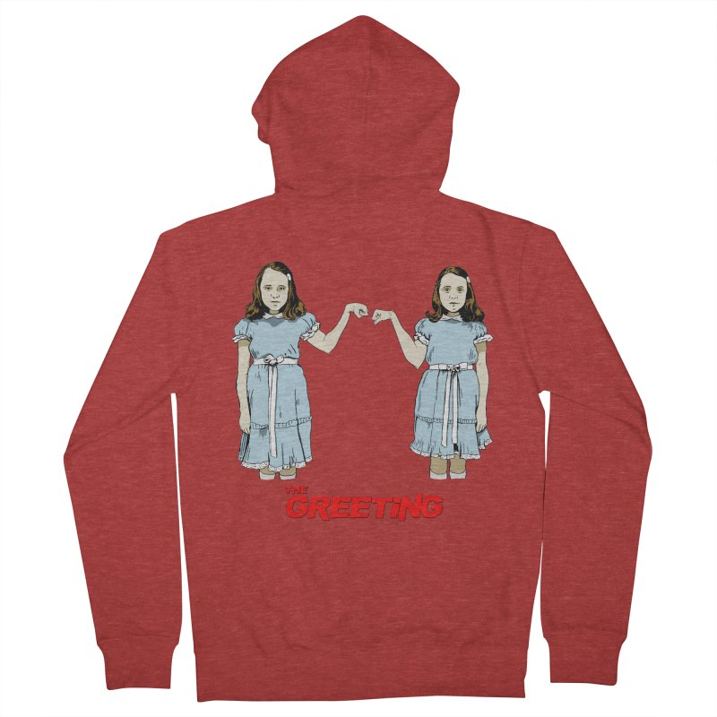 The Greeting Women's French Terry Zip-Up Hoody by peregraphs's Artist Shop