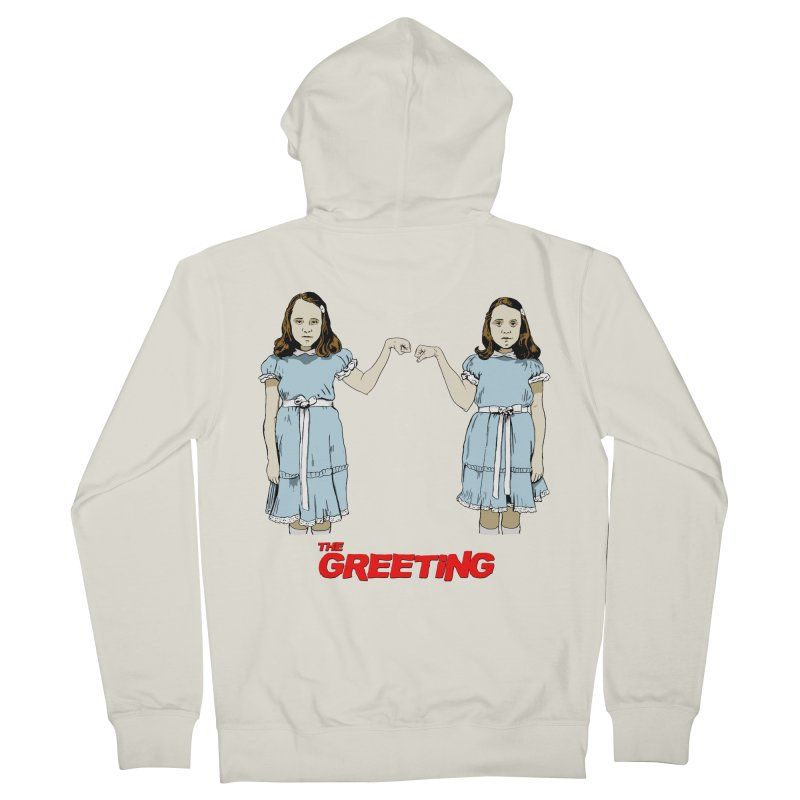 The Greeting Men's French Terry Zip-Up Hoody by peregraphs's Artist Shop