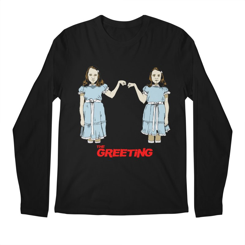 The Greeting Men's Regular Longsleeve T-Shirt by peregraphs's Artist Shop