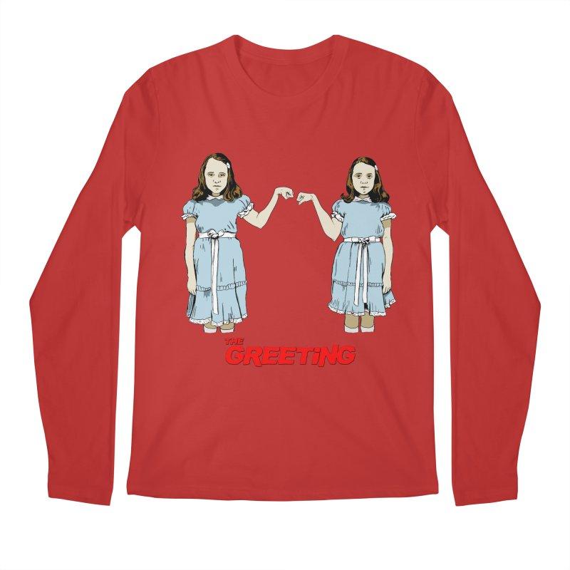 The Greeting Men's Regular Longsleeve T-Shirt by peregraphs's Artist Shop