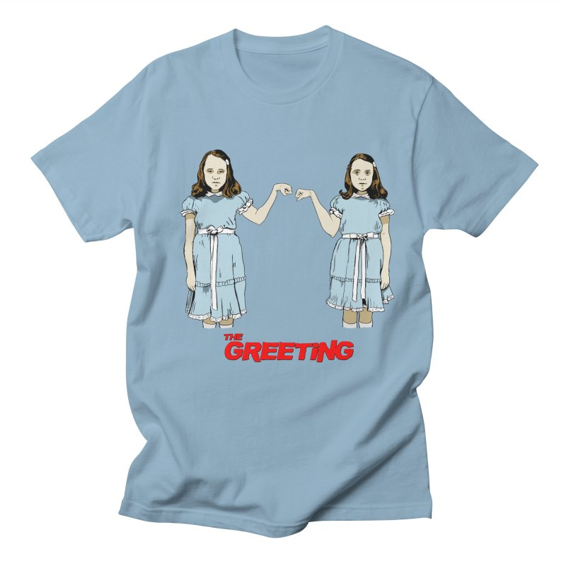 The Greeting Men's Regular T-Shirt by peregraphs's Artist Shop
